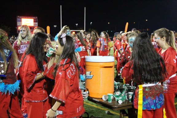 Post - Filly Football Powder Puff Homecoming Game - 123