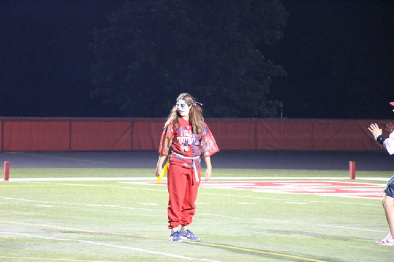 Post - Filly Football Powder Puff Homecoming Game - 146