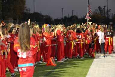 Post - Filly Football Powder Puff Homecoming Game - 18
