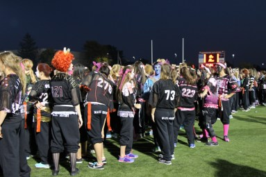 Post - Filly Football Powder Puff Homecoming Game - 20