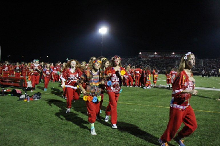 Post - Filly Football Powder Puff Homecoming Game - 22