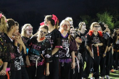 Post - Filly Football Powder Puff Homecoming Game - 55