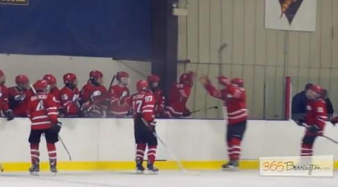Post - Barrington High School Hockey Defeats Glenbrook North in BHS Game of the Week - 11