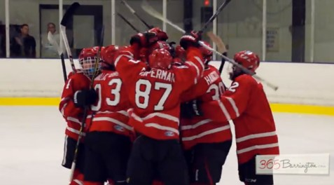 Post - Barrington High School Hockey Defeats Glenbrook North in BHS Game of the Week - 14