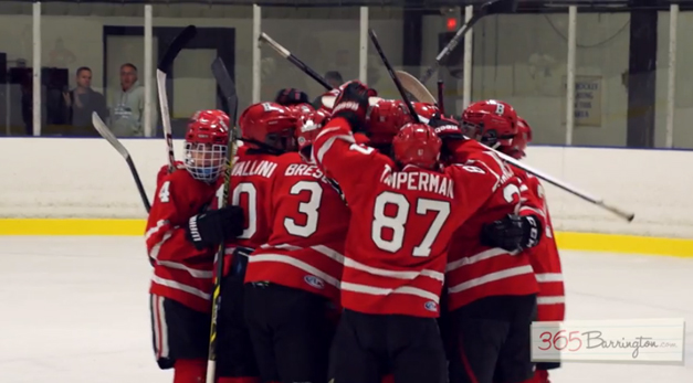 Barrington High School Hockey Defeats Glenbrook North in BHS Game of the Week