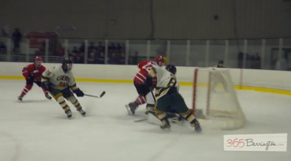 Post - Barrington High School Hockey Defeats Glenbrook North in BHS Game of the Week - 17