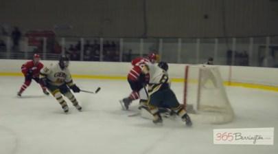 Post - Barrington High School Hockey Defeats Glenbrook North in BHS Game of the Week - 17
