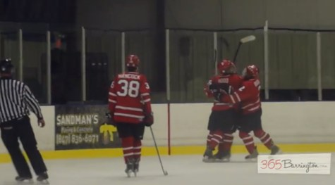 Post - Barrington High School Hockey Defeats Glenbrook North in BHS Game of the Week - 6
