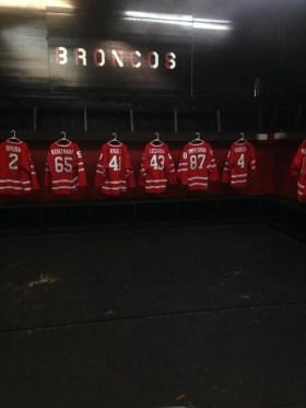 Post - Barrington High School Hockey Varsity Locker Room
