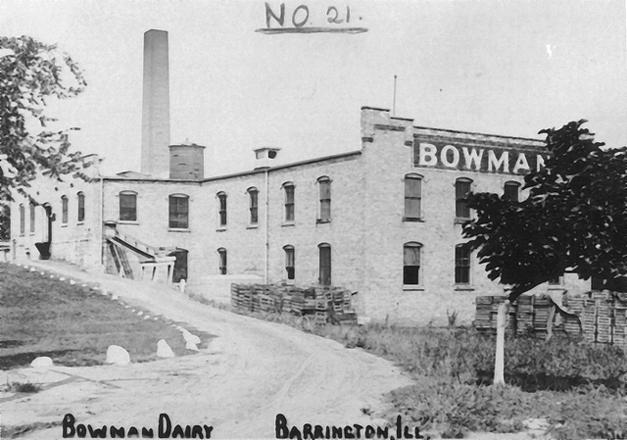Bowman Dairy, now Barrington's Ice House Mall