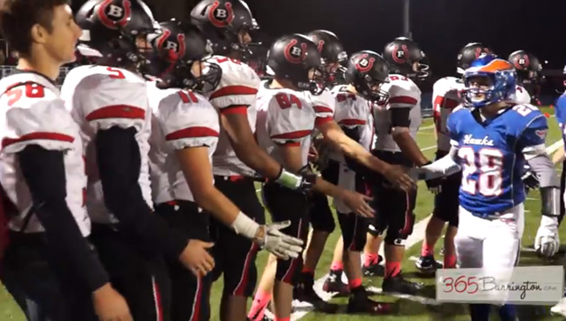 Broncos Defeat Hoffman Estates 55 to 14 in the BHS Game of the Week