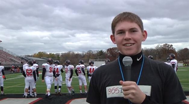 Alex Gaul Covers BHS Bronco's Main South Victory for 365BarringtonTV