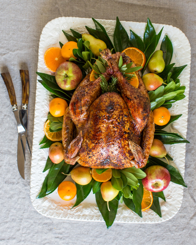 Table and Dish Celebrates a Heinen's Grocery Thanksgiving - Photo by Sally Roeckell