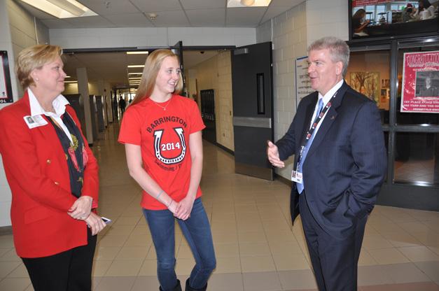 Kirsten Jacobsen Day at Barrington High School