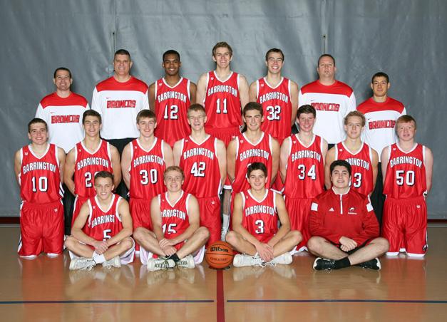 Barrington High School Varsity Basketball Team