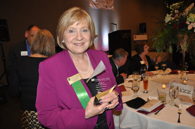 Barrington Area Chamber of Commerce 2015 Business Award Winner, Char Neault