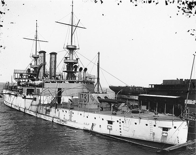The first USS Illinois
