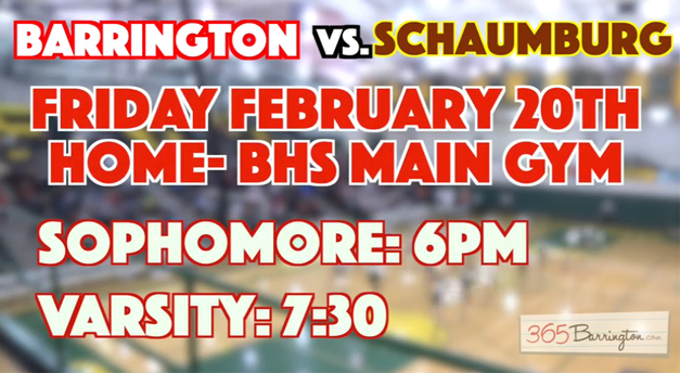 Post - BHS Bronco Varisty Basketball vs. Schaumburg Saxons