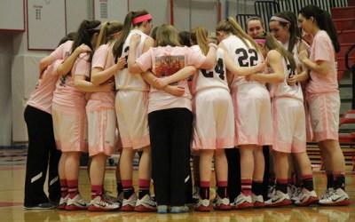 34. BHS Girls Varsity Basketball Celebrates Senior Night Victory Against Hoffman Estates