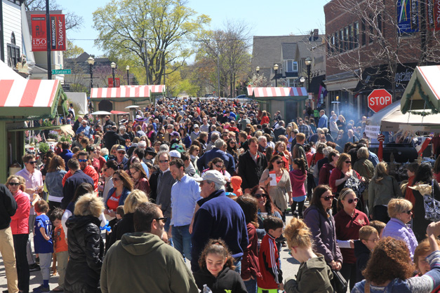 Barrington 1865 Street Fest - Photo by Bob Lee
