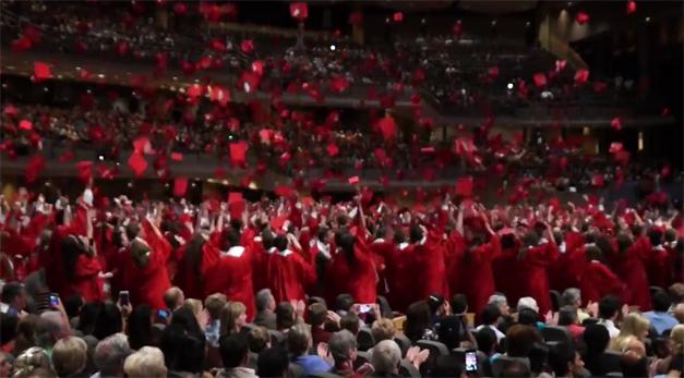 Post - Barrington High School 2015 Graduation - 10