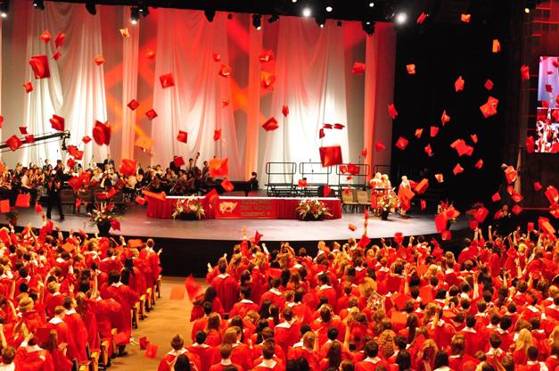 Post - Barrington High School Graduation - 1