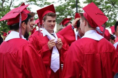 Post - Barrington High School Graduation - 13