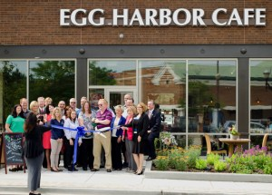 Post - Egg Harbor Cafe Ribbon Cutting - 1