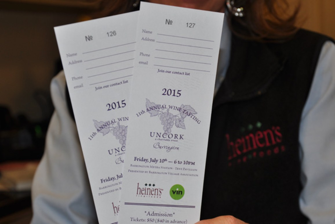 Post - Uncork Barrington Tickets - 1