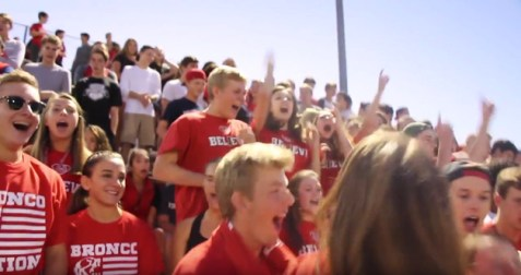 Post - BHS Broncos Red & White Scrimmage 2015 - 4