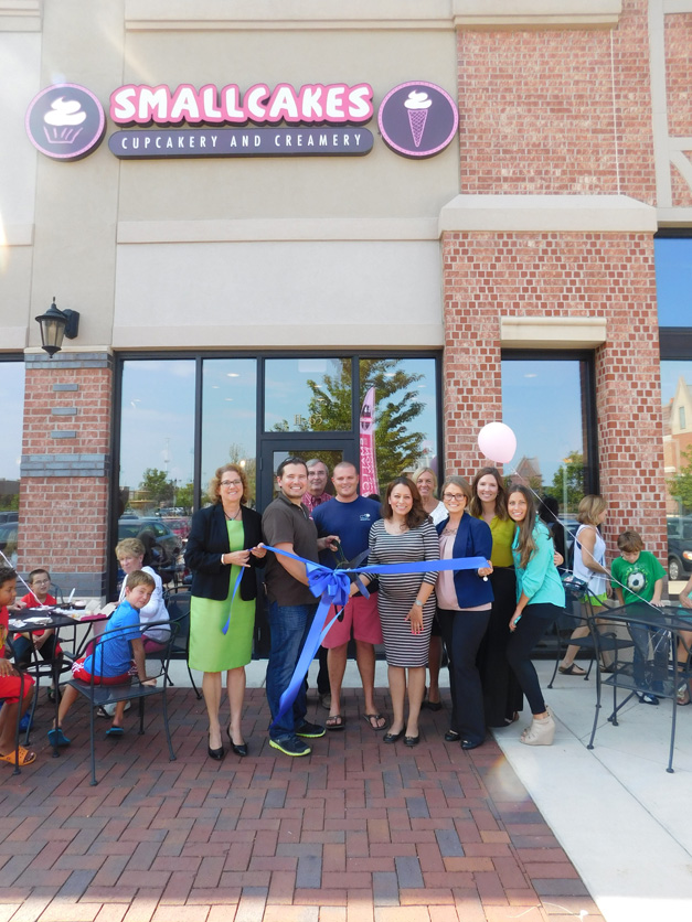 Post - Smallcakes Ribbon Cutting