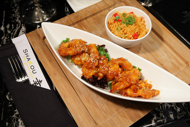 Shakou's Firecracker Shrimp
