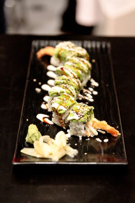 Shakou's Green Dragon Roll