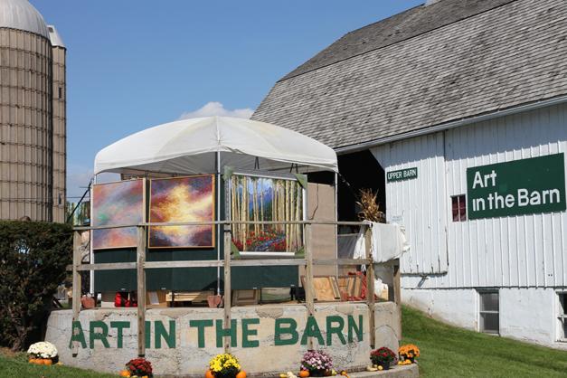 Post - Barrington Art in the Barn 2014 - Photo by Bob Lee - 2