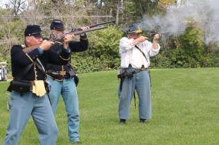 Post - Barrington Sesquicentennial Civil War Reenactment-102