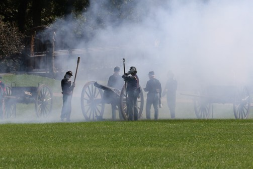 Post - Barrington Sesquicentennial Civil War Reenactment-107