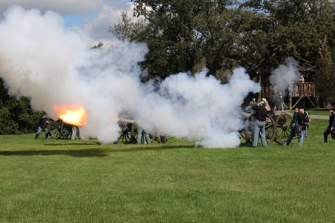 Post - Barrington Sesquicentennial Civil War Reenactment-109