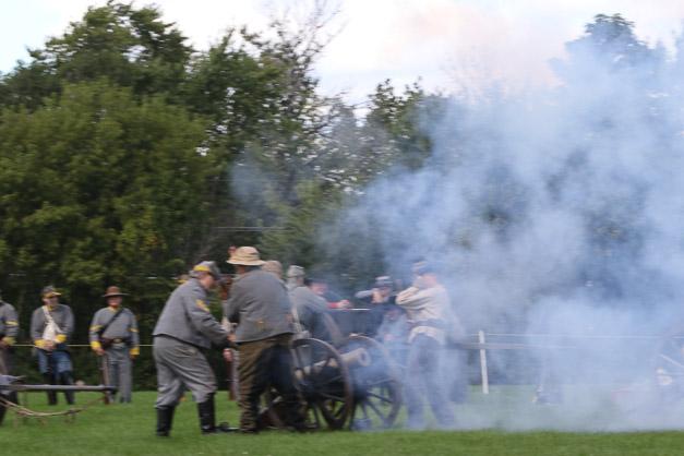 Post - Barrington Sesquicentennial Civil War Reenactment-119