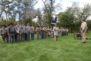 Post - Barrington Sesquicentennial Civil War Reenactment-82
