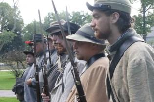 Post - Barrington Sesquicentennial Civil War Reenactment-87