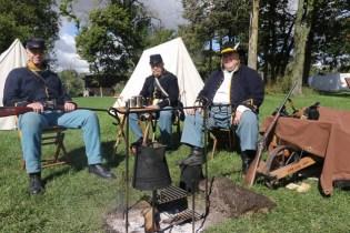 Post - Barrington Sesquicentennial Civil War Reenactment-90