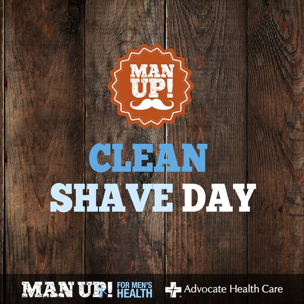 Advocate - Man Up Clean Shave Day