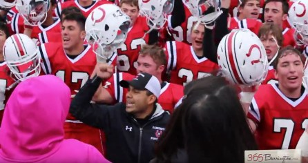 Coach Sanchez 100th Career Win