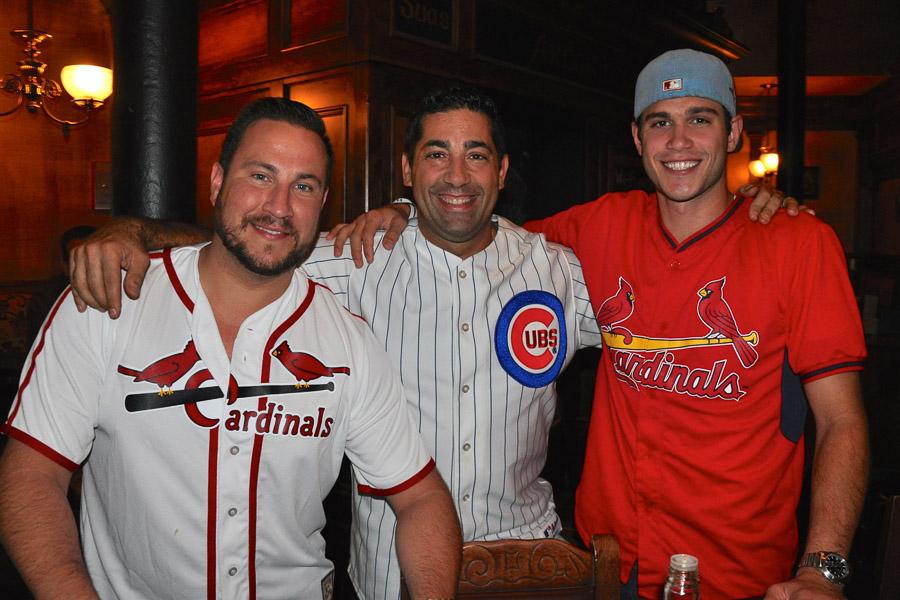Cards Fan, Dominic Buttita * Cubs Fan, Gino Grisi * Cards Fan, Jonathan Cox