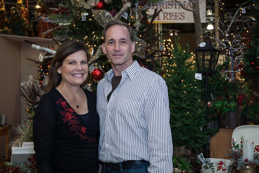 Treetime Christmas Creations Co-owners, Joe and Laurie Kane