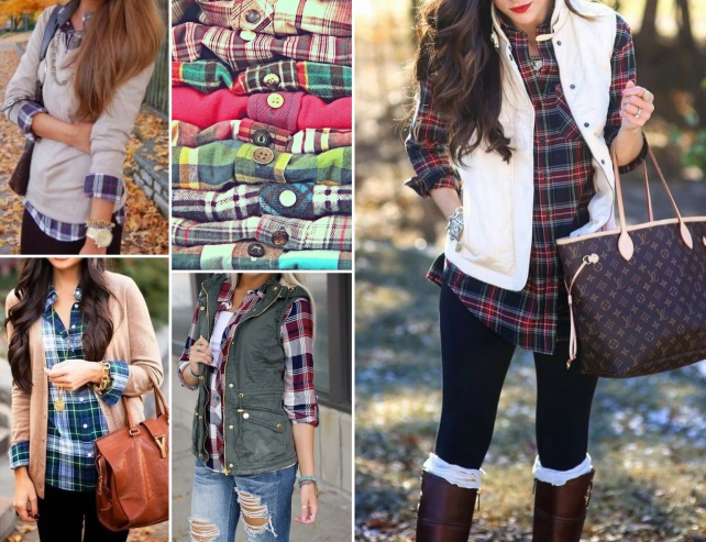 Similar Plaid Shirts can be found at LUXE for $42 - $58