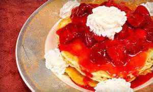 Southern Belles - Strawberry Pancakes