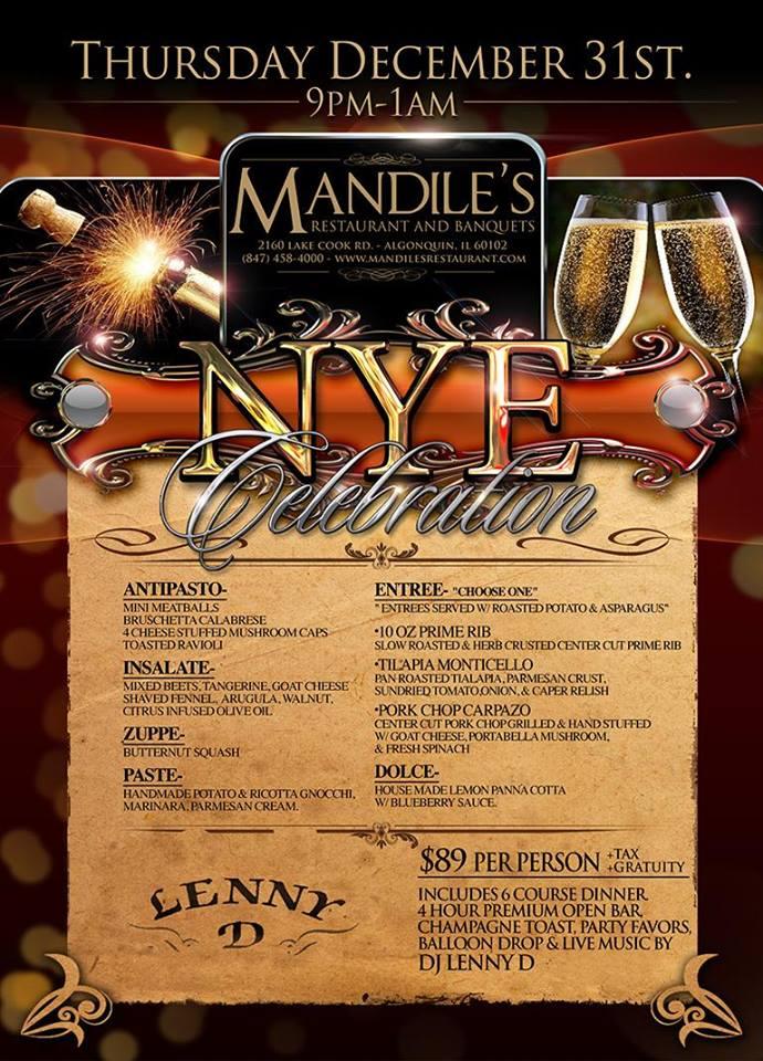 Mandiles - New Year's Eve