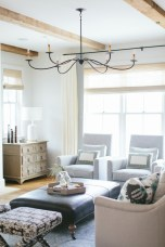 Family Room: Soft seating and soothing colors