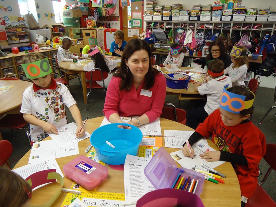 100th Day of Kindergarten at Saint Anne Parish School